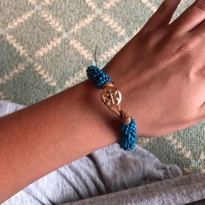 Beaded Tory Burch bracelet